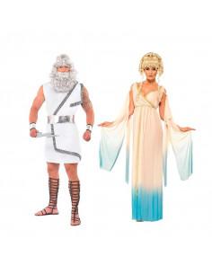 Disfraz en pareja de Zeus y Hera