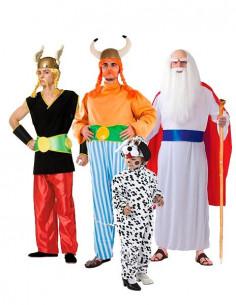 Disfraz de Astérix y Obélix para Grupos