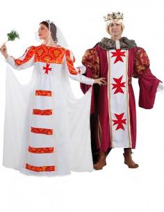 Disfraz de Boda Medieval en pareja
