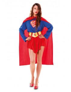 Disfraz superheroína sexy para mujer