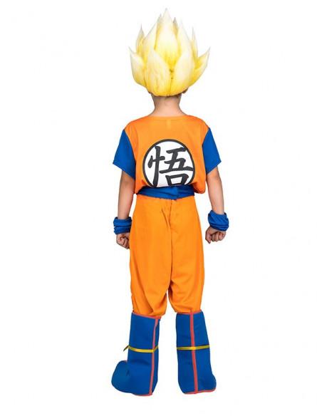Disfraz Super Saiyan infantil trasera