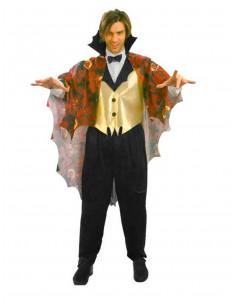 Disfraz vampiro tenebroso  Modelo-Único Tallas-M-L