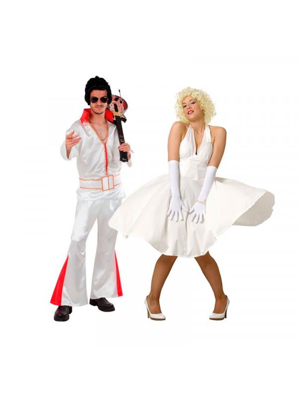 Disfraz en pareja de los 50s