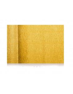 Papel Crepé metalizado oro