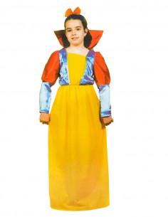 Disfraz de princesa Blancanieves