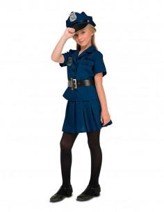 Disfraz policia chica infantil