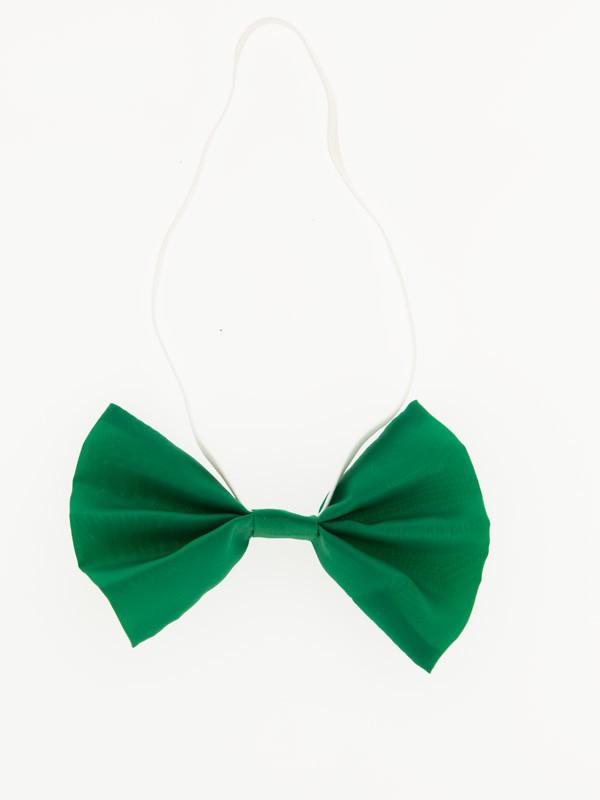 Pajarita de raso colores verde