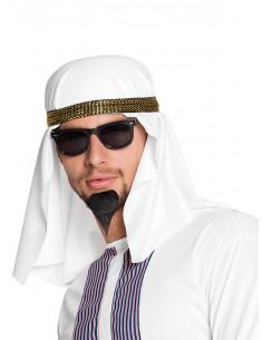Turbante árabe Abdullah hombre