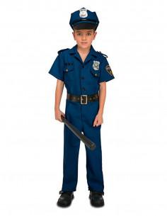 Disfraz policía para chico infantil
