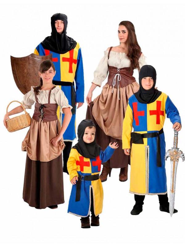 Disfraces de Medievales para Familias