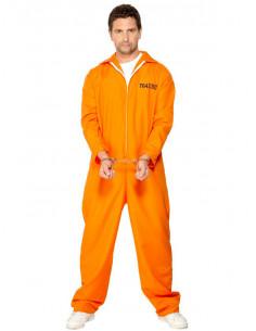 Disfraz preso americano para hombre