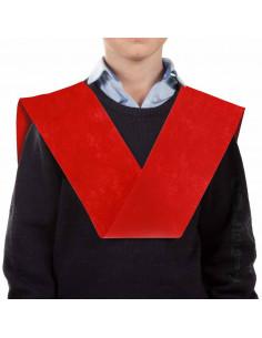 Banda de graduación roja
