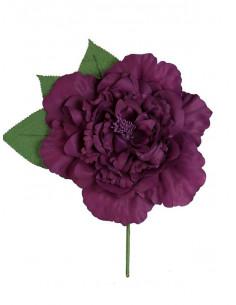 Flor flamenca grande morada