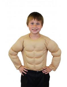 Camiseta músculos infantil