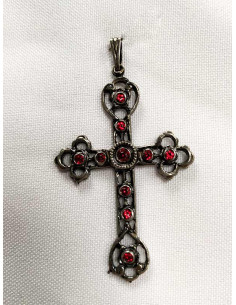 Cruz para traje regional 17337 rojo