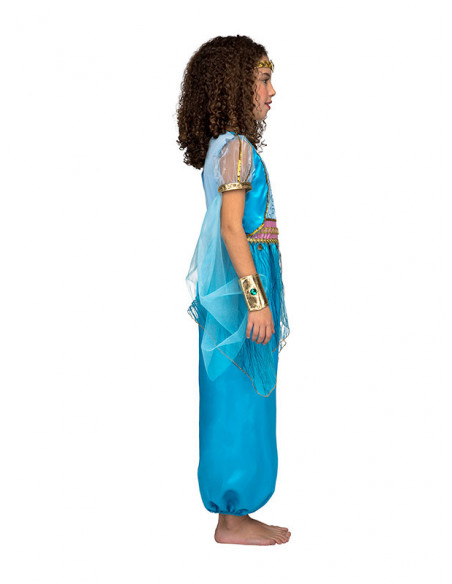Disfraz Princesa Jasmín infantil perfil