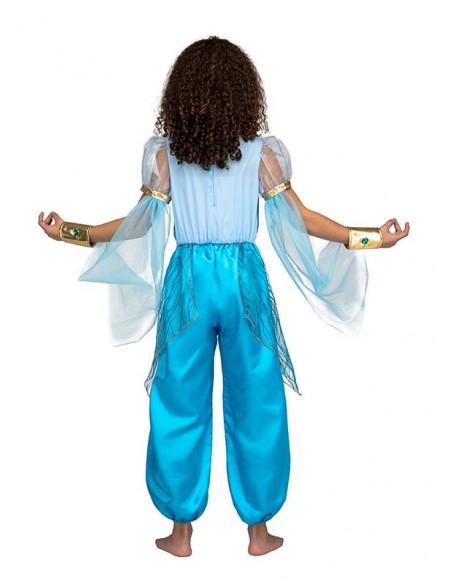 Disfraz Princesa Jasmín infantil espalda