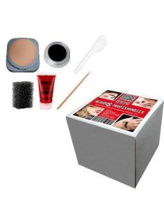 Kit maquillaje heridas Halloween contenido