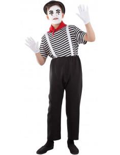 Disfraz de mimo infantil