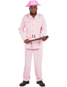 Disfraz Guardia Rosa para hombre