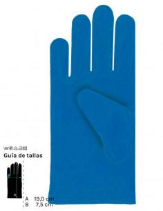 Guantes colores cortos infantil azul