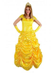 Disfraz Princesa Amarilla mujer