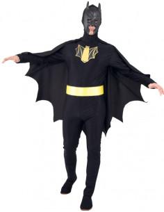 Disfraz de superhéroe murciélago hombre