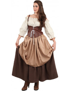 Traje medieval para mujer