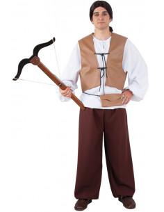 Disfraz arquero medieval