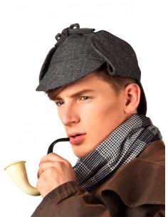 Gorra detective inglés hombre