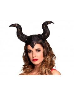 Diadema Maléfica reina malvada mujer
