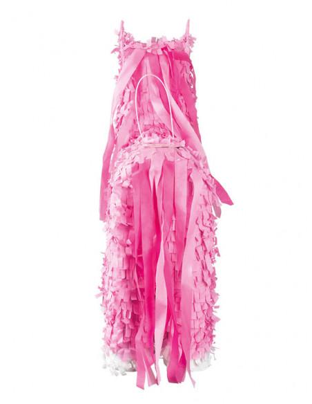 Piñata unicornio rosa trasera