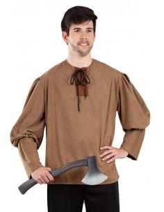 Camisa medieval rústica