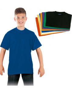 Camiseta infantil azul