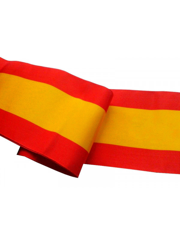 Cinta de bandera de España 100mm
