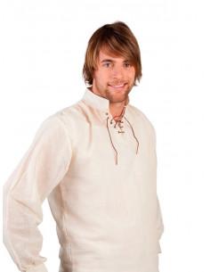 Camisa medieval para hombre