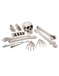 Set decoración huesos