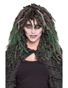 Peluca zombien Swamp