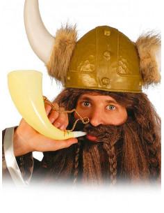 Cuerno vikingo guerrero