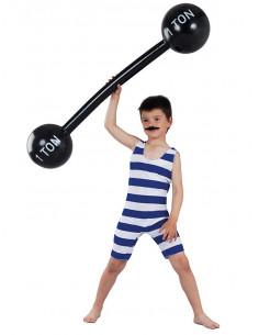 Disfraz forzudo infantil