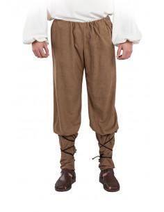 Pantalón medieval de antelina