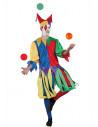 Disfraz de bufón Medieval adulto