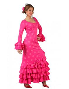 Disfraz faralae rosa