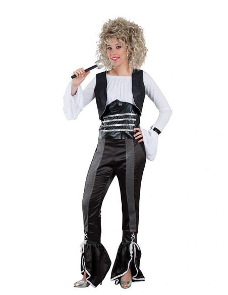 Disfraz cantante de los 80