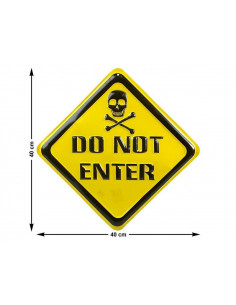Cartel Do Not Enter