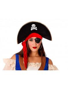 Sombrero pirata calavera