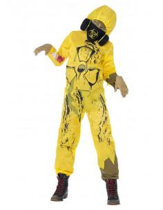 Disfraz zombie radiactivo infantil