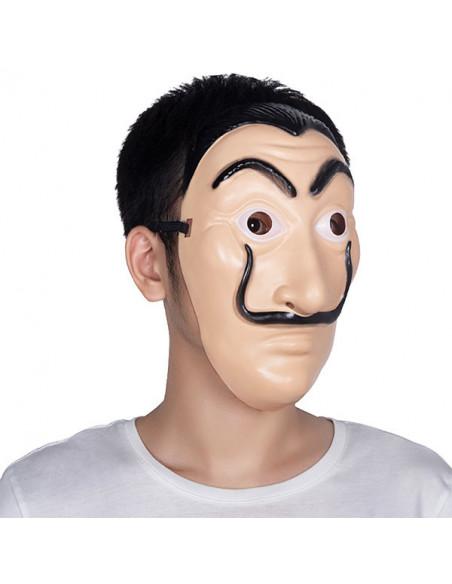 Máscara Dalí pintor lateral