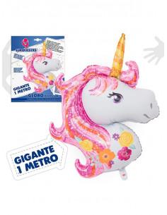 Globo Unicornio metalizado
