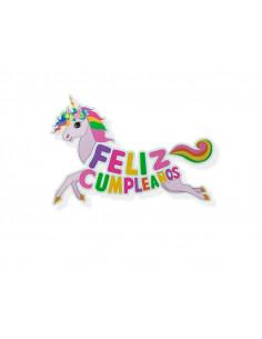 Guirnalda Unicornio Feliz Cumpleaños